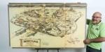 mapa disney 150x75 Subastan el mapa original de Disneylandia