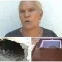 Video: Desentierran el niño que murió 'chupado' por una 'bruja' en Azua