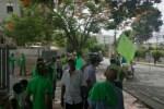 verdes 150x100 RD: Los Verdes piquetean oficinas de Odebrecht