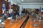 Se reúnen Ministerio de defensa y la policía haitiana