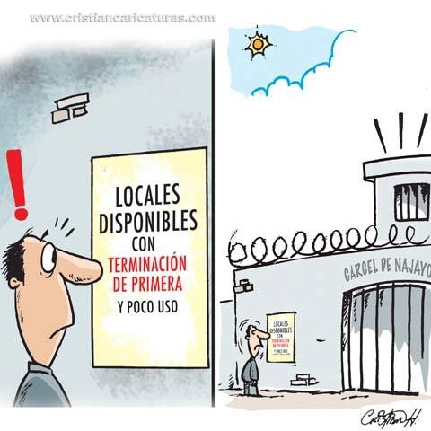 Caricatura Odebrecht Caricatura: Varían las medidas de coerción...