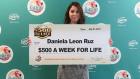 Daniela León Ruz 300x169 Con un dólar jevita gana 26.000 al año de por vida