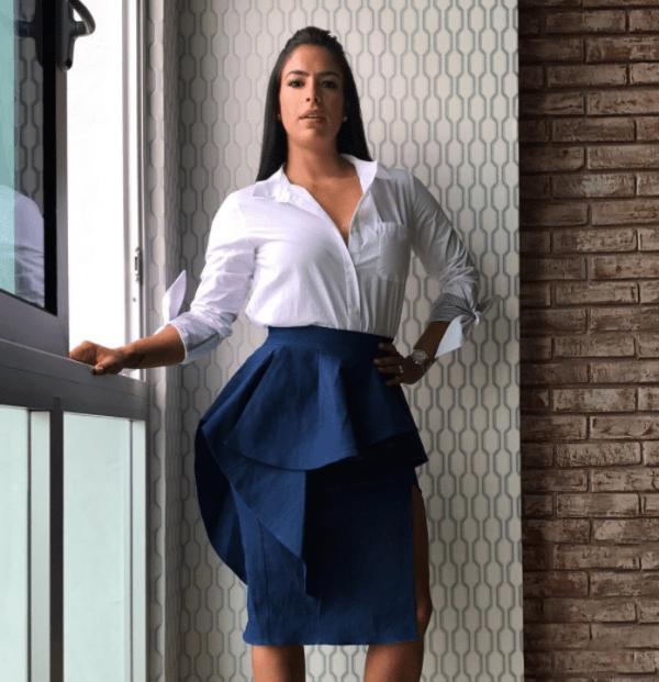 Lizbeth Santos 3 600x621 Adivina adivinador: Presentadora de televisión con mirada tierna