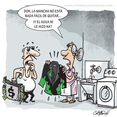 Marcha Verde Caricatura: La mancha verde...