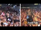 Tito el Bambino 300x225 Tito el Bambino se jondea pal público en concierto