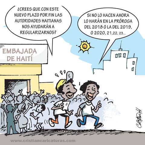 """cari 1 Caricatura: """"Plan de regularización..."""""""