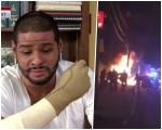 """dominicano nj 150x120 """"Me despierto por las noches como si estuviera prendido en llamas"""""""