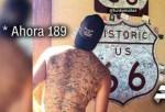 tatuaje 150x102 Funky Matas, el tipo con más firmas tatuadas en la espalda