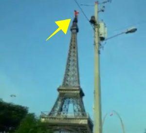 torre eiffel 300x273 Rescatan hombre intentó tirarse de la Torre Eiffel dominicana