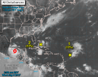 Franklin 300x236 Franklin se convierte en huracán categoría 1