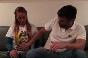 Leopoldo López 300x200 La jeva de Leopoldo López ta preñá (video)