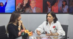 Tania Báez también critica la televisión dominicana