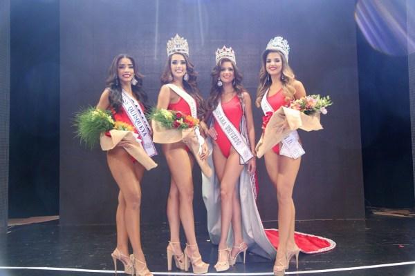 Zaidy Bello Miss Quisqueya Yeisi Rodriguez Miss Continente Carmen Muñoz Miss Republica Dominicaba Universo y Litza Alvarez Miss Hispanoamerica 1 600x400 La nueva Miss República Dominicana 2017