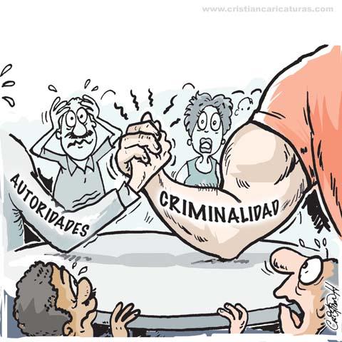 "caricatura 3 Caricatura: ""Tumbando el pulso..."""