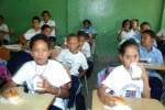 desayuno escolar 1 150x100 Desayuno escolar: 85% de la leche se produce en RD
