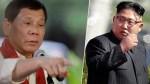 duterte kim jong un 150x84 El 'presi' de Filipinas le entra como la conga a Kim Jong un