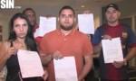 estafados 150x90 Tipa acusada de estafar a 35 venezolanos en RD