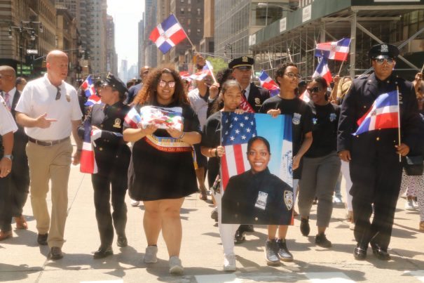 familia Imagenes  Desfile dominicano de Nueva York 2017