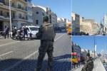 francia 1 150x100 Vehículo se estrella contra paradas de autobús en Francia