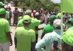 marcha verde 150x105 Impiden a Los Verdes entrar a los alrededores de Punta Catalina