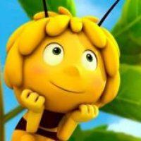 En popular serie infantil apareció un bimbolo pintado en un tronco