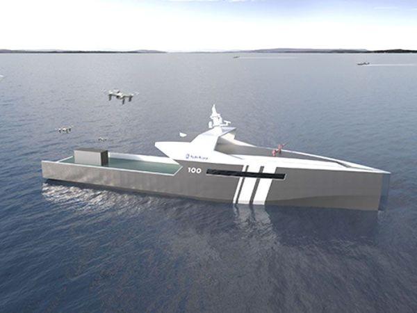 Rolls Royce 2 600x450 Rolls Royce revela nave naval autónoma