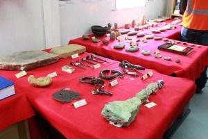 arqueologico 300x200 Descubren un lote de piezas taínas y africanas en Cotuí
