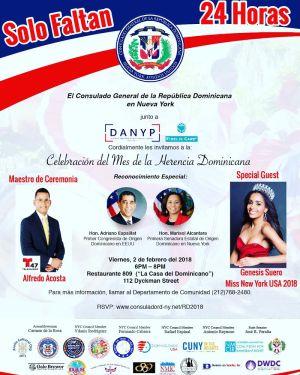 Celebración del Mes de la Herencia Dominicana en New York