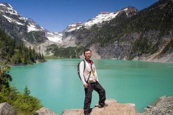 我在 Lake Blanca