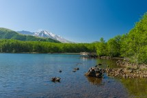 Cold Water Lake 与 Mt. St. Helens