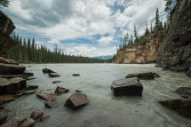 Athabasca River 下游
