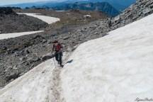 冰川行进的要素就是跟别人走出来的路线走