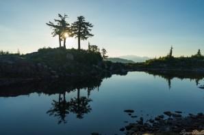早晨的 Pocket Lake