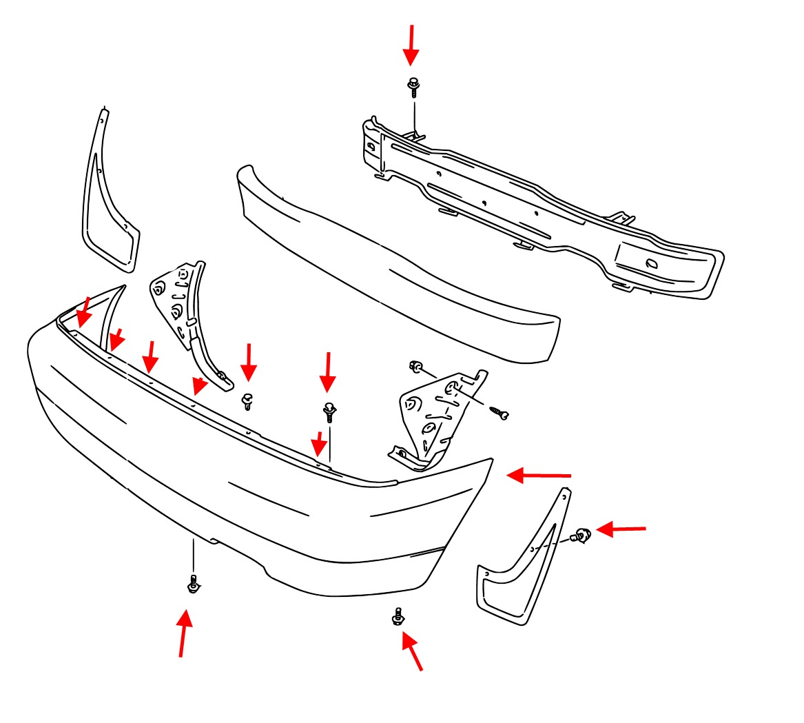 How To Remove Front And Rear Bumper Suzuki X90