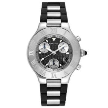 Ремонт часов Cartier W10125U2 21 Chronoscaph 21 ...