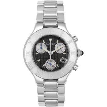 Ремонт часов Cartier W10172T2 21 Chronoscaph 21 ...