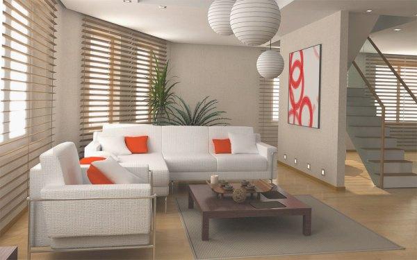Интерьер зала в частном доме » Обустроить свою комнату ...
