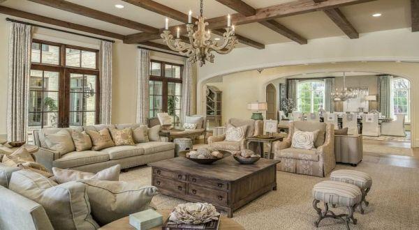 Стиль прованс в интерьере квартиры и загородного дома на фото