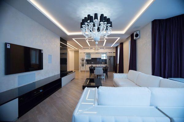 Ремонт трехкомнатной квартиры 144 кв. м
