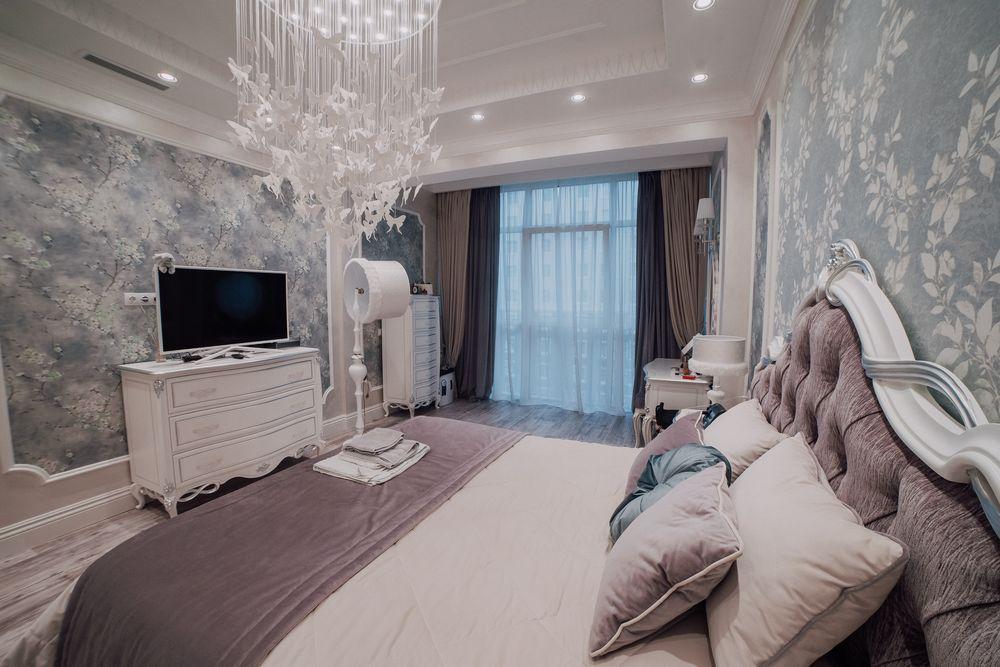Kies behang in de slaapkamer