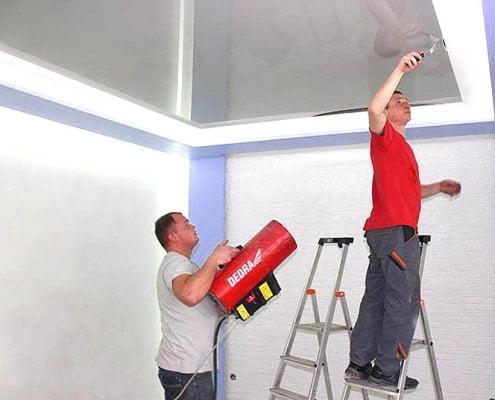 Что такое натяжные потолки   Все о натяжных потолках