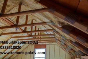 изолация на покрив, топлоизолация покрив