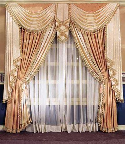 Дизайн штор для зала - варианты интерьеров для гостиной ...