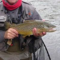 La evolución de la pesca con ninfa; la pesca al hilo