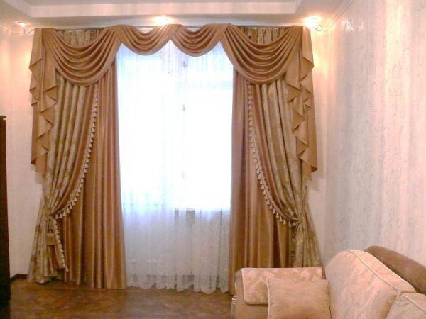 Шторы в гостиную фото, красивые и современные шторы для ...
