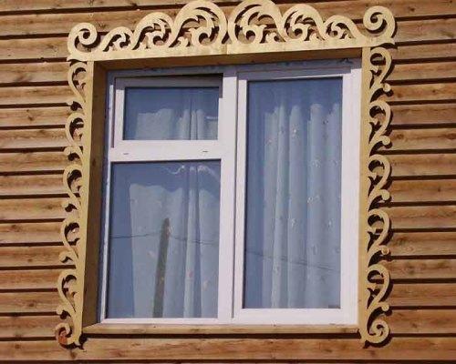 Трафареты на наличники на окна своими руками резные
