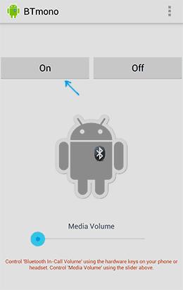 Приложение BTmono для Android