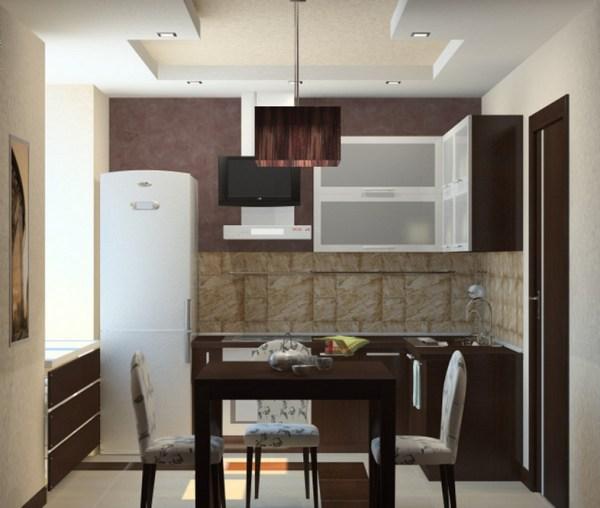 Дизайн проект маленькой кухни - Ремонт квартиры своими ...
