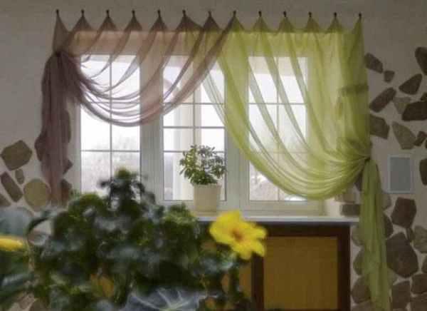 Оформление окна на кухне - Ремонт квартиры своими руками ...