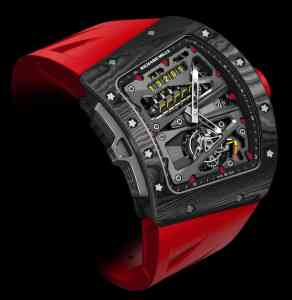 Нов часовник - Richard Mille RM 70-01 Tourbillon Alain Prost 'Cycling' с somplications